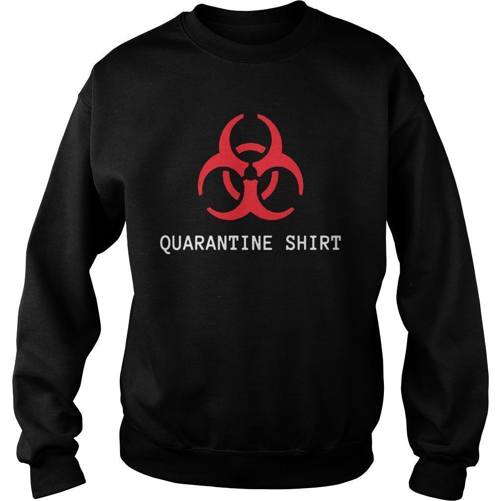 Quarantine Area Sweater