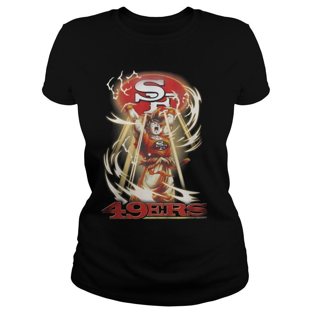 San Francisco 49ers Songoku Longsleeve
