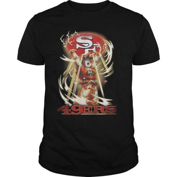 San Francisco 49ers Songoku Shirt