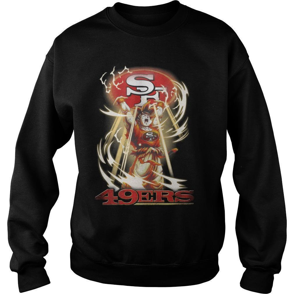 San Francisco 49ers Songoku Sweater