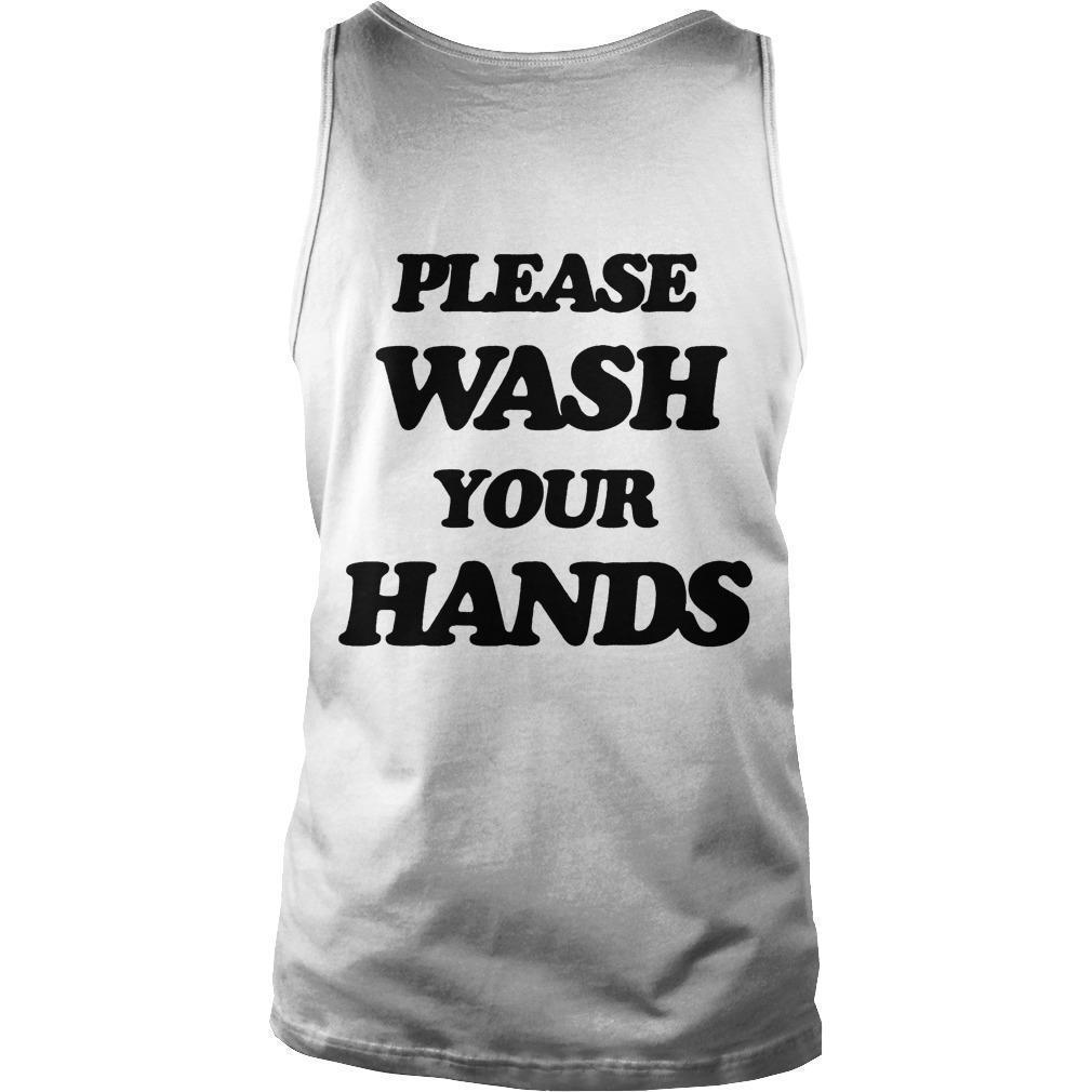 Scott Disick Wash Your Hands Tank Top