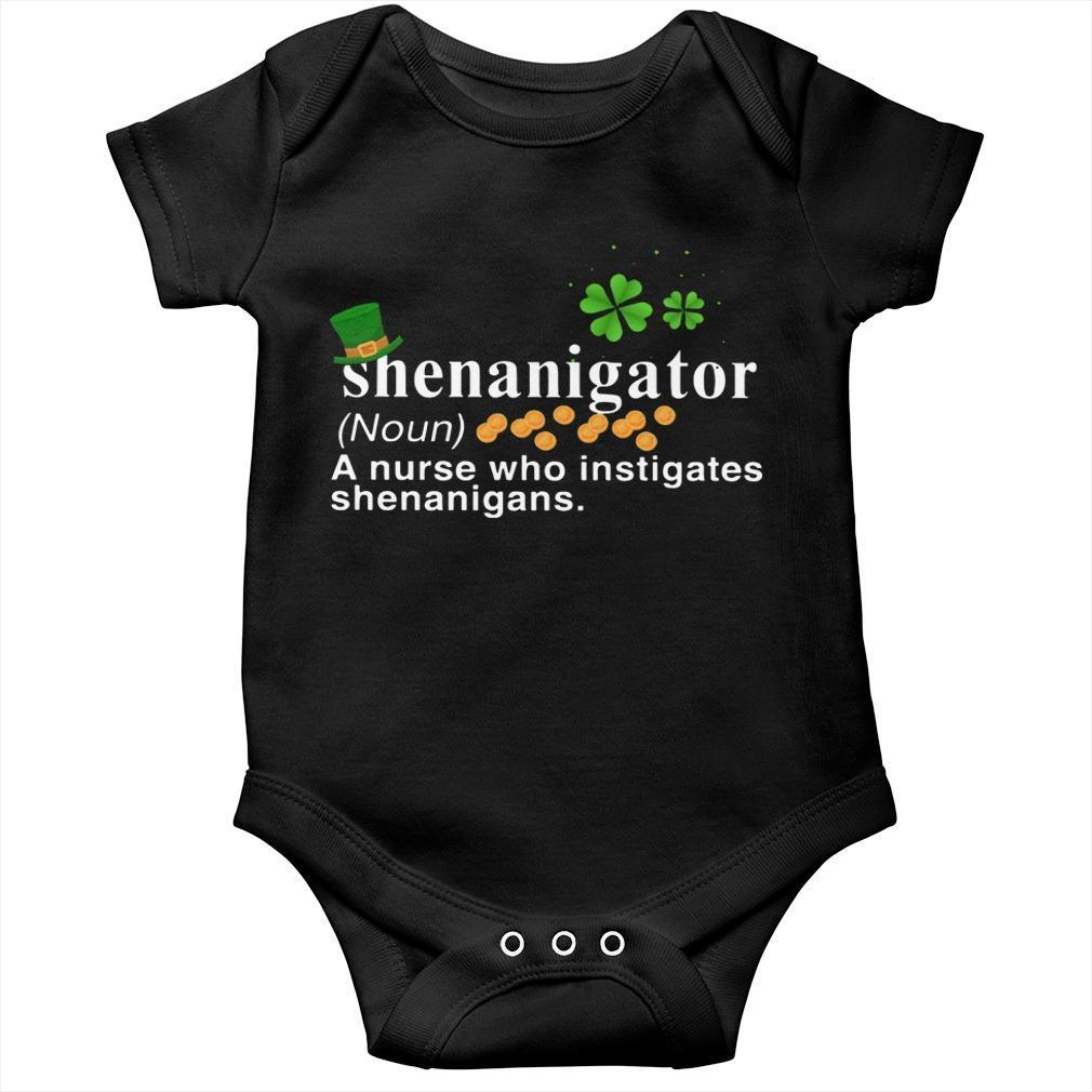 Shenanigator A Nurse Who Instigates Shenanigans Longsleeve