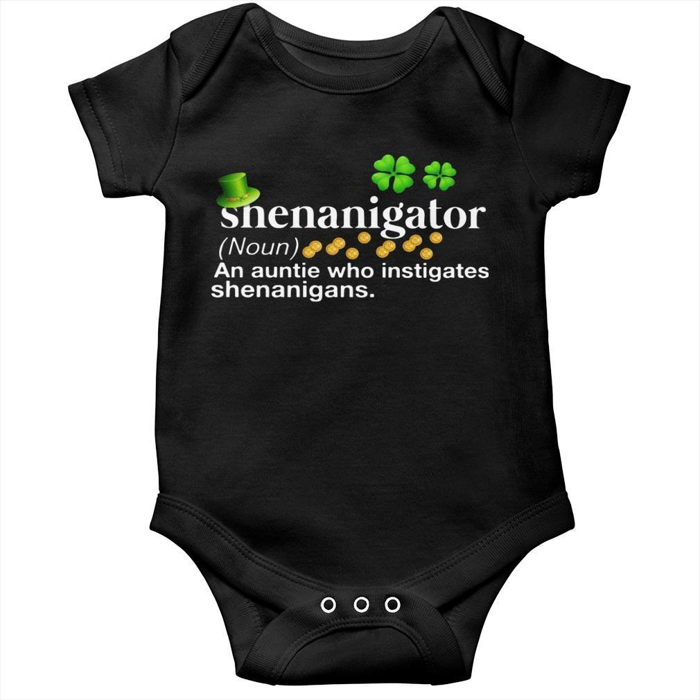 Shenanigator An Aunt Who Instigates Shenanigans Longsleeve