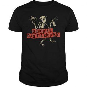 Skellington Social Distancing Shirt