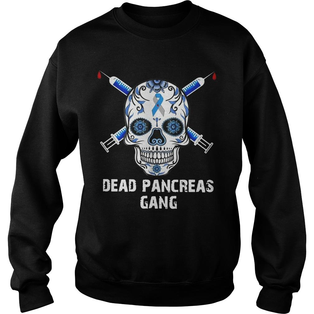 Skull Dead Pancreas Gang Sweater