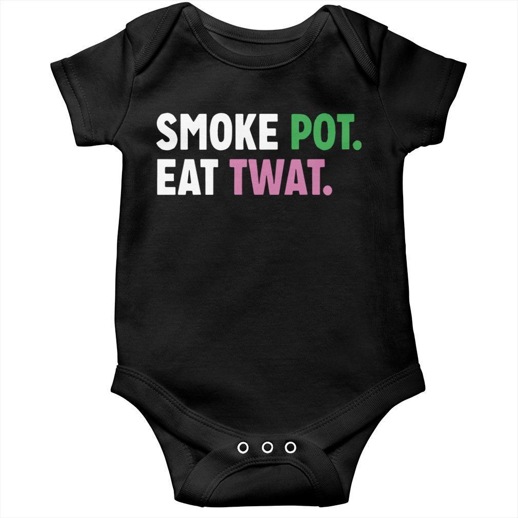 Smoke Pot Eat Twat Longsleeve