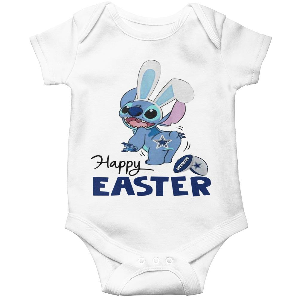 Stitch Dallas Cowboys Happy Easter Longsleeve