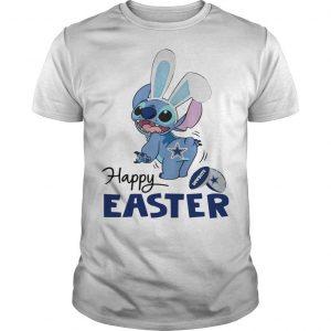 Stitch Dallas Cowboys Happy Easter Shirt