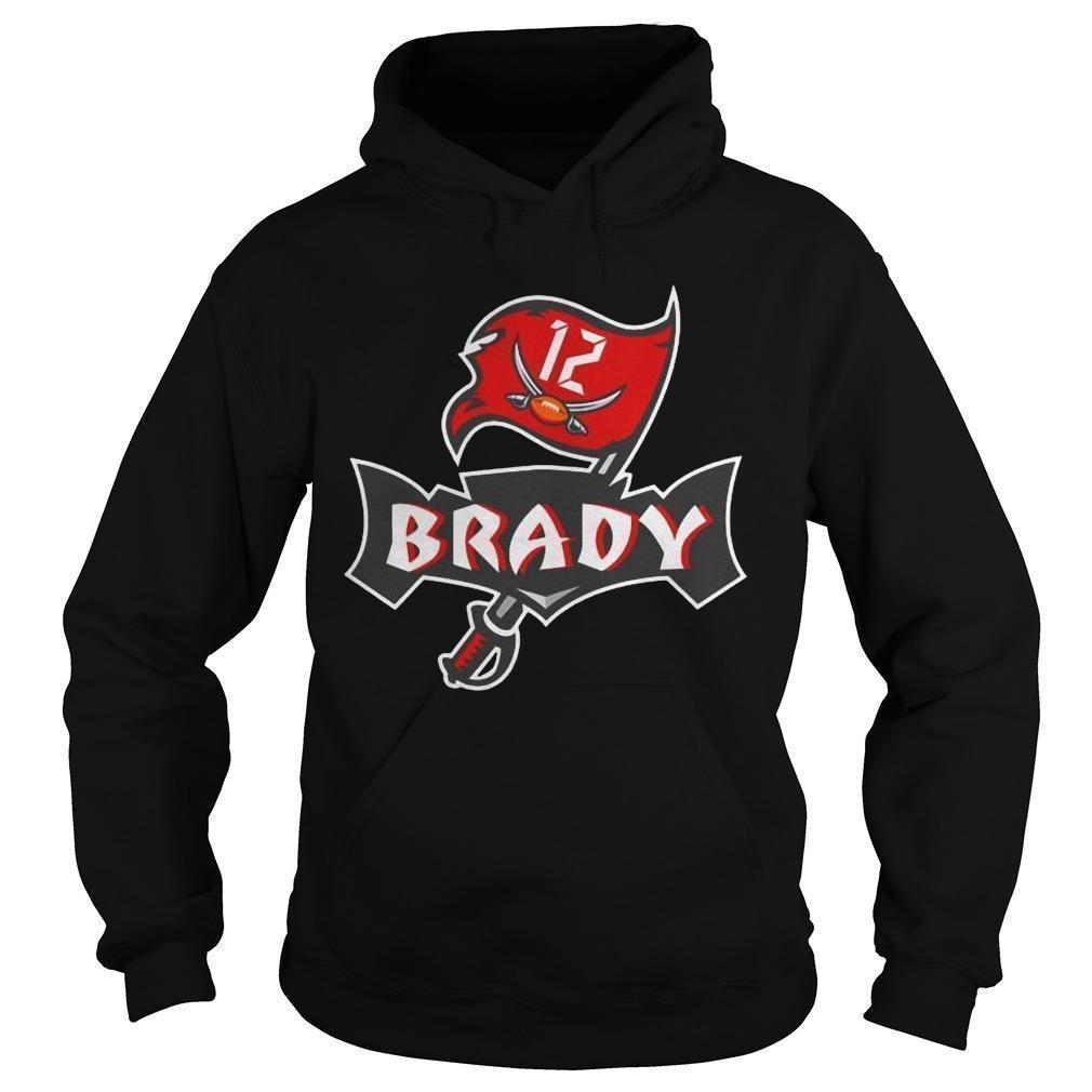 Tampa Bay Buccaneers Tom Brady 12 Hoodie