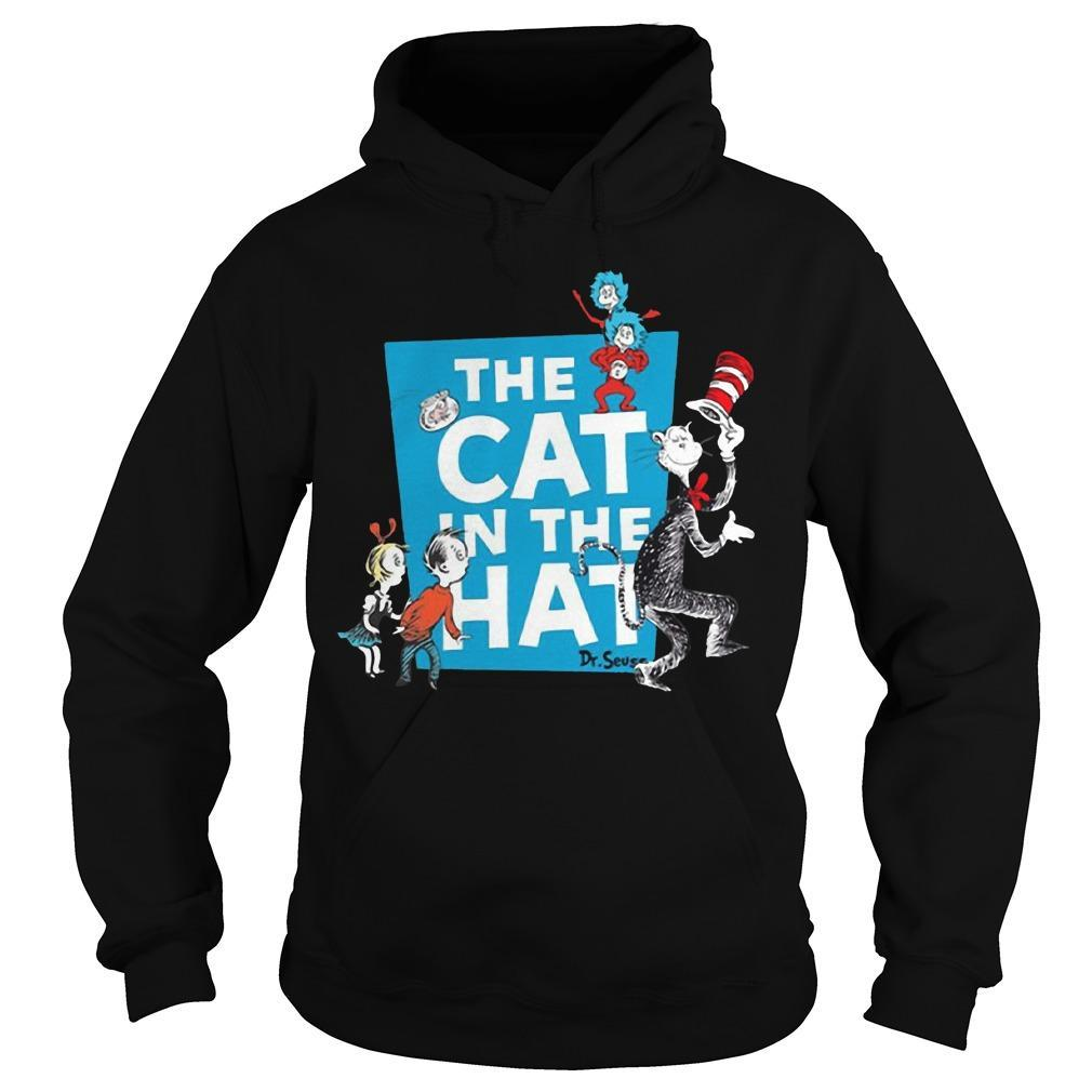 The Cat In The Hat Dr. Seuss Hoodie
