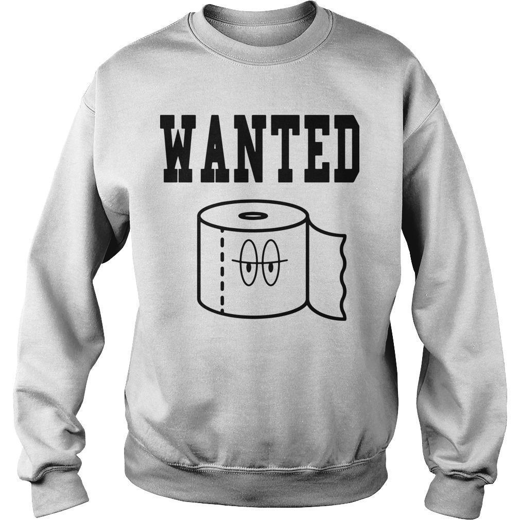 Toilet Paper Missing Wanted Sweater