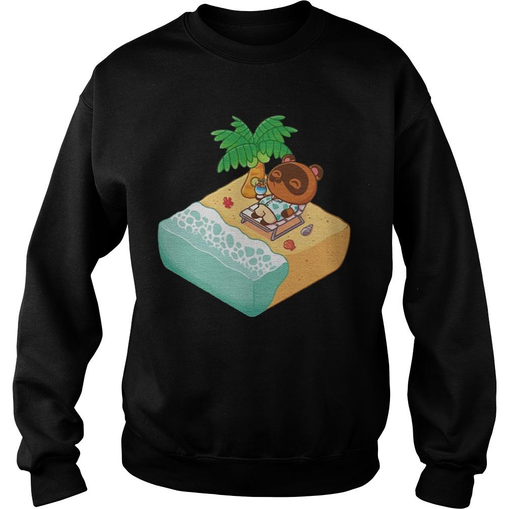 Tom Nook Hawaiian Sweater