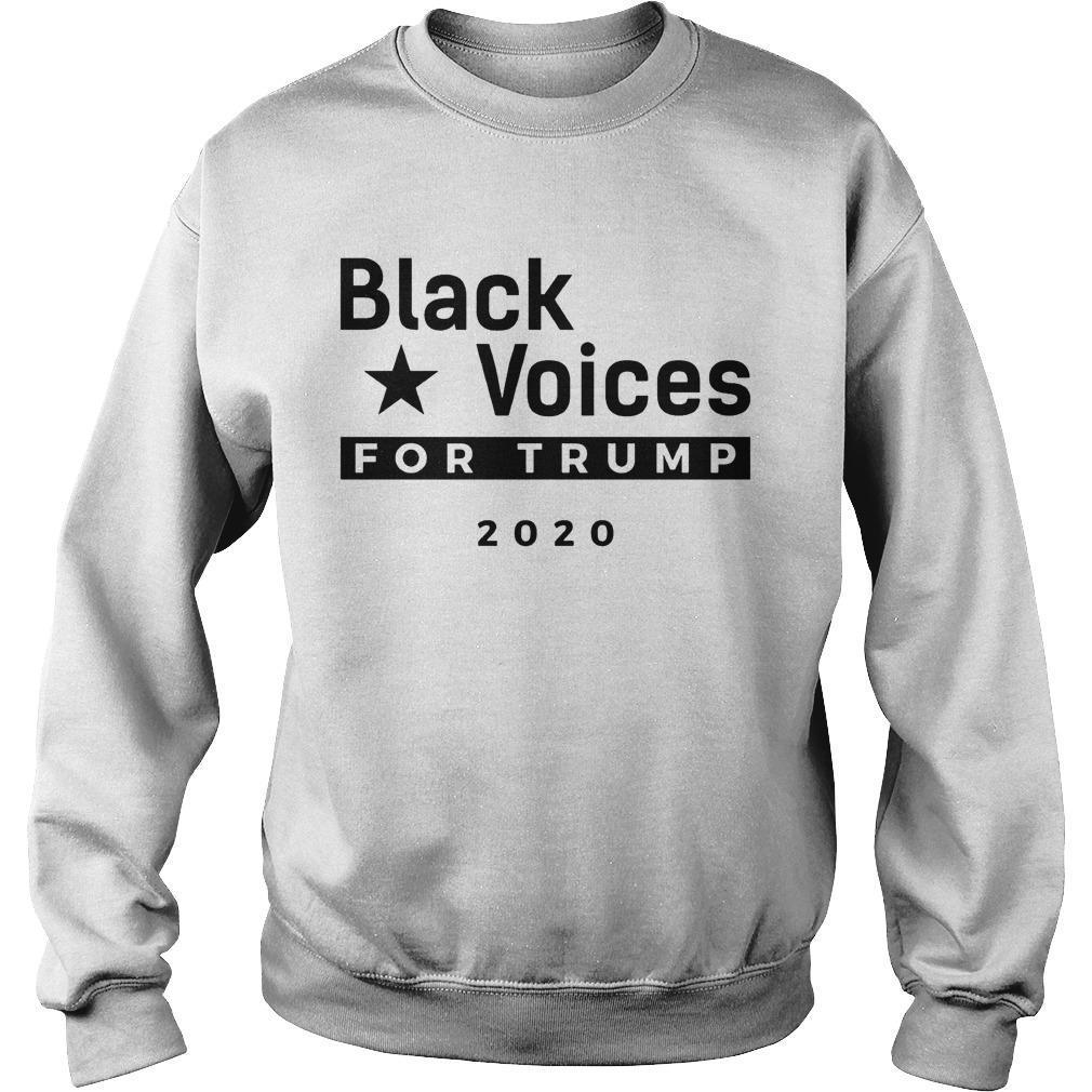 Trump Black Voice For Trump Sweater
