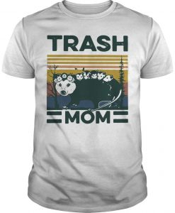 Vintage Rat Trash Mom Shirt