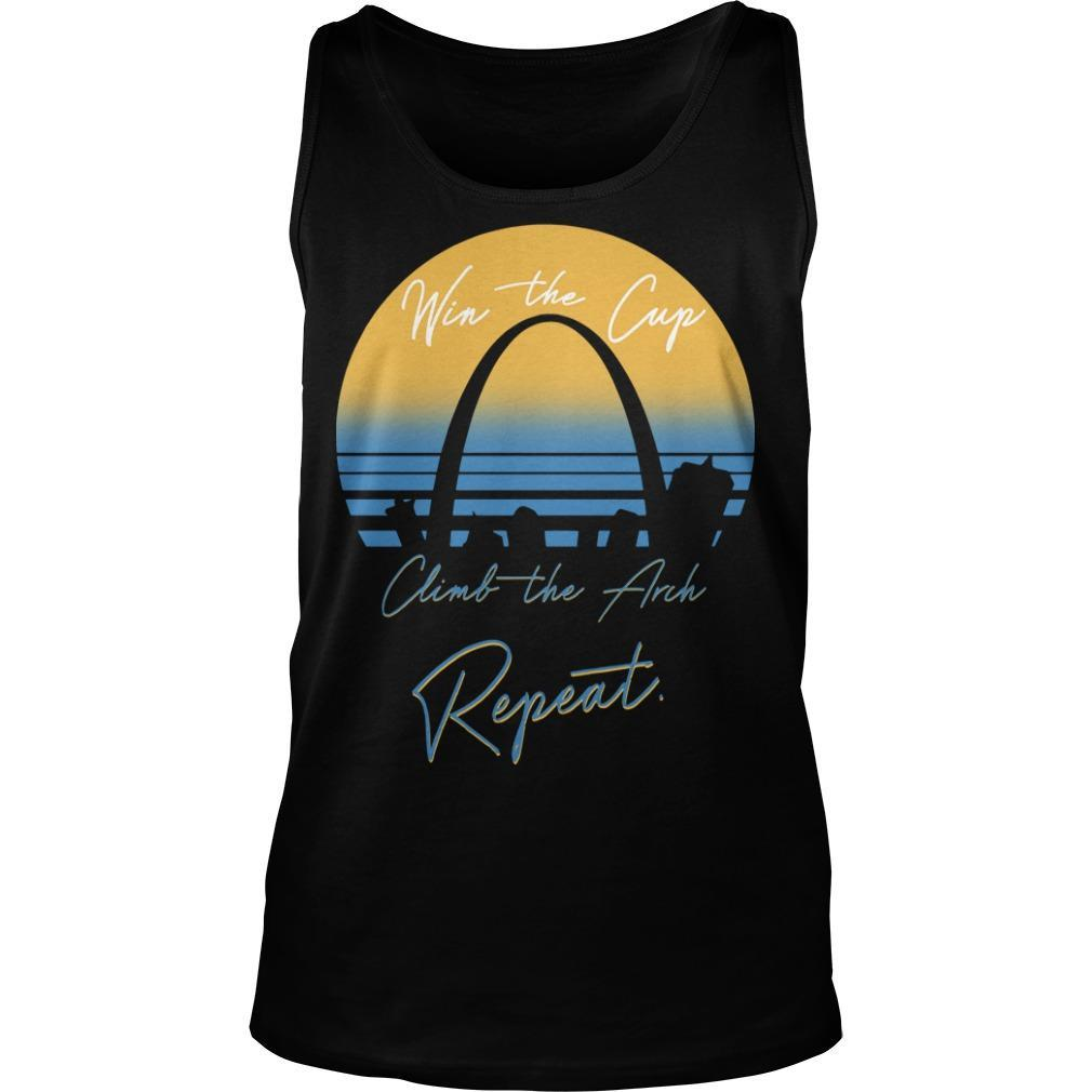 Win The Cup Climb The Arch Repeat Tank Top