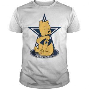 Winnie The Pooh Dallas Cowboys Tattoos Shirt