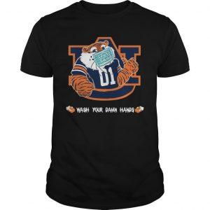 Auburn Tigers Wash Your Damn Hands Shirt