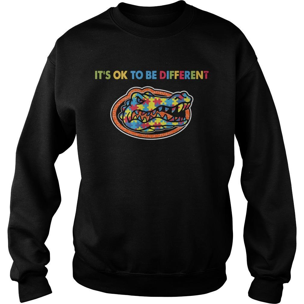 Autism Florida Gator It's Ok To Be Different Sweater