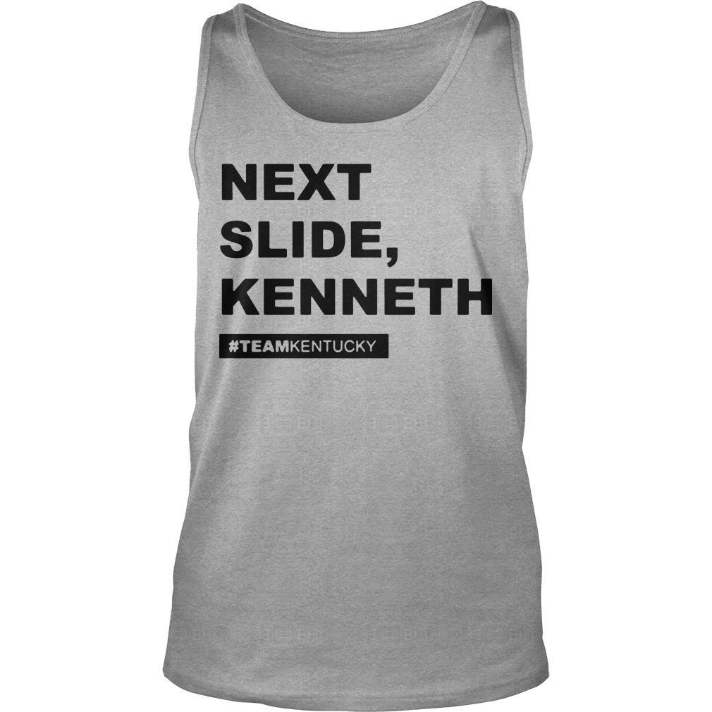Beshear Gear Next Slide Kenneth Team Kentucky Tank Top