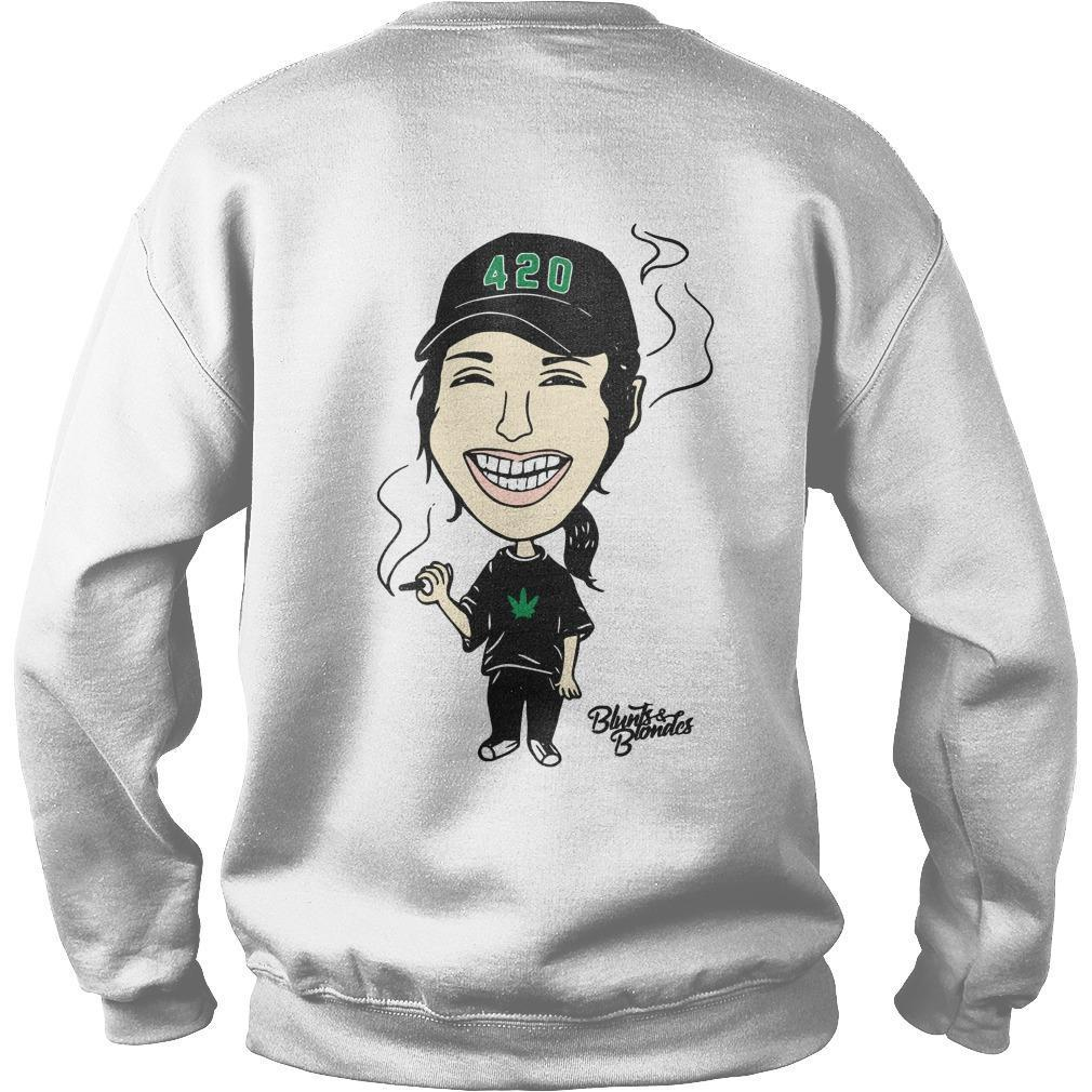 Blunts And Blondes 4 20 20 Sweater