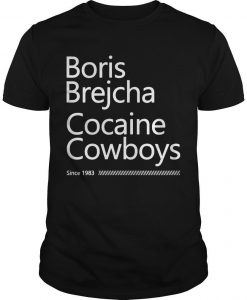 Boris Brejcha Cocaine Cowboys Since 1983 Shirt