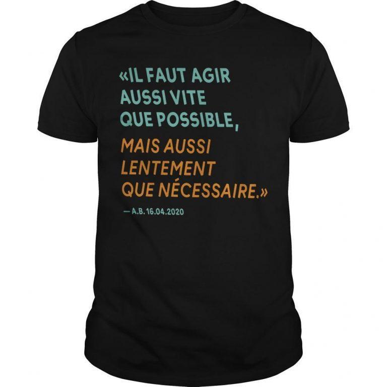 By The Way T Shirt Alain Berset