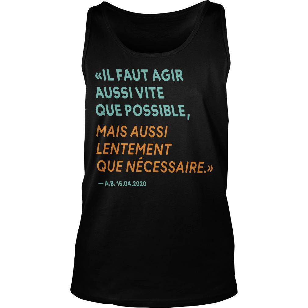 By The Way T Alain Berset Tank Top