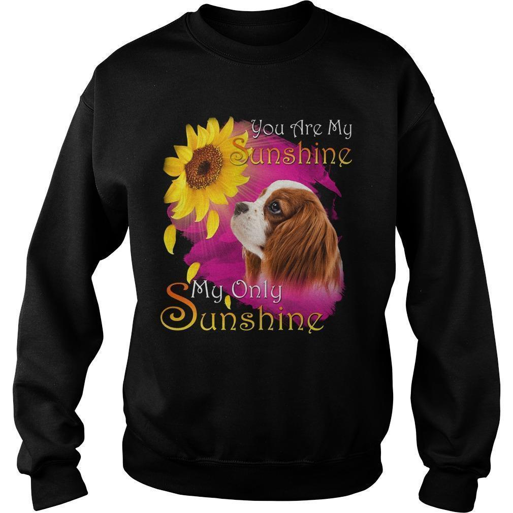 Cavalier King Charles Spaniel You Are My Sunshine My Only Sunshine Sweater