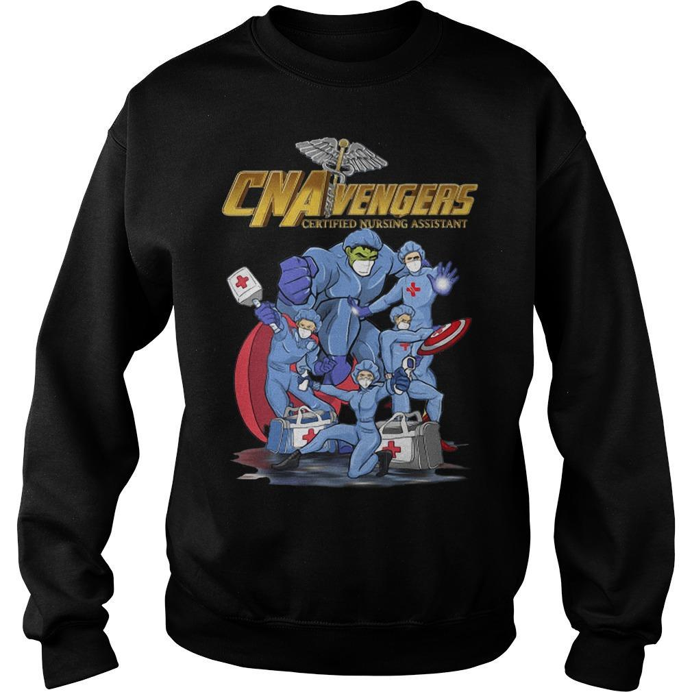 Cna Vengers Certified Nursing Assistant Sweater
