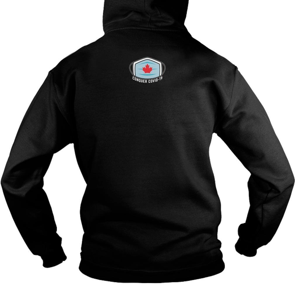 Conquer Covid 19 T Hoodie