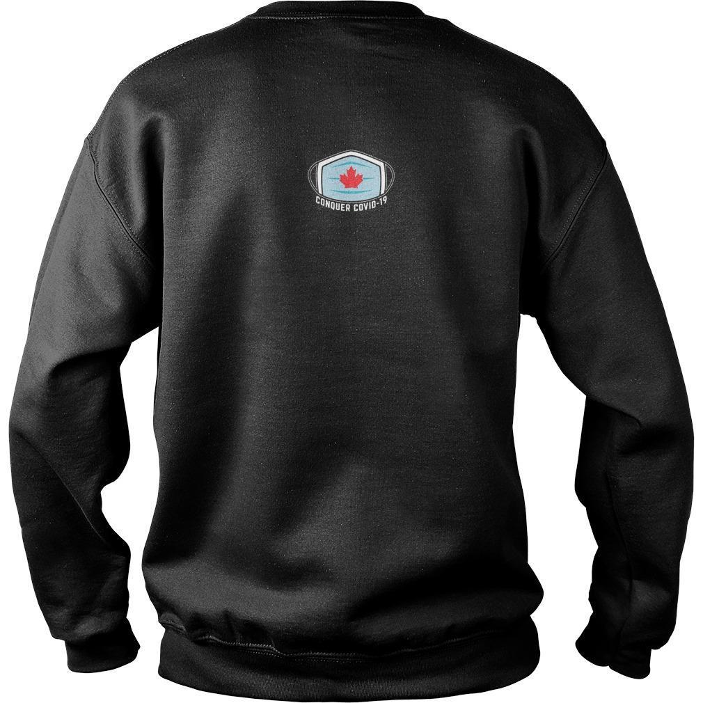 Conquer Covid 19 T Sweater
