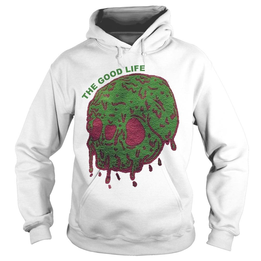 Elyse Willems Skull The Good Life Hoodie