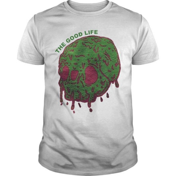 Elyse Willems Skull The Good Life Shirt