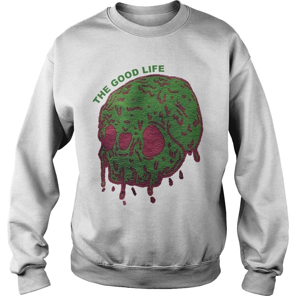 Elyse Willems Skull The Good Life Sweater
