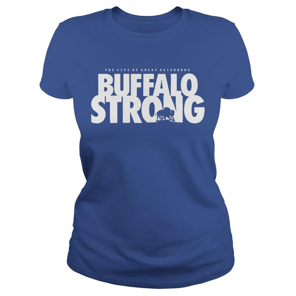 FeedMore WNY The City Of Great Neighbors Buffalo Strong Longsleeve