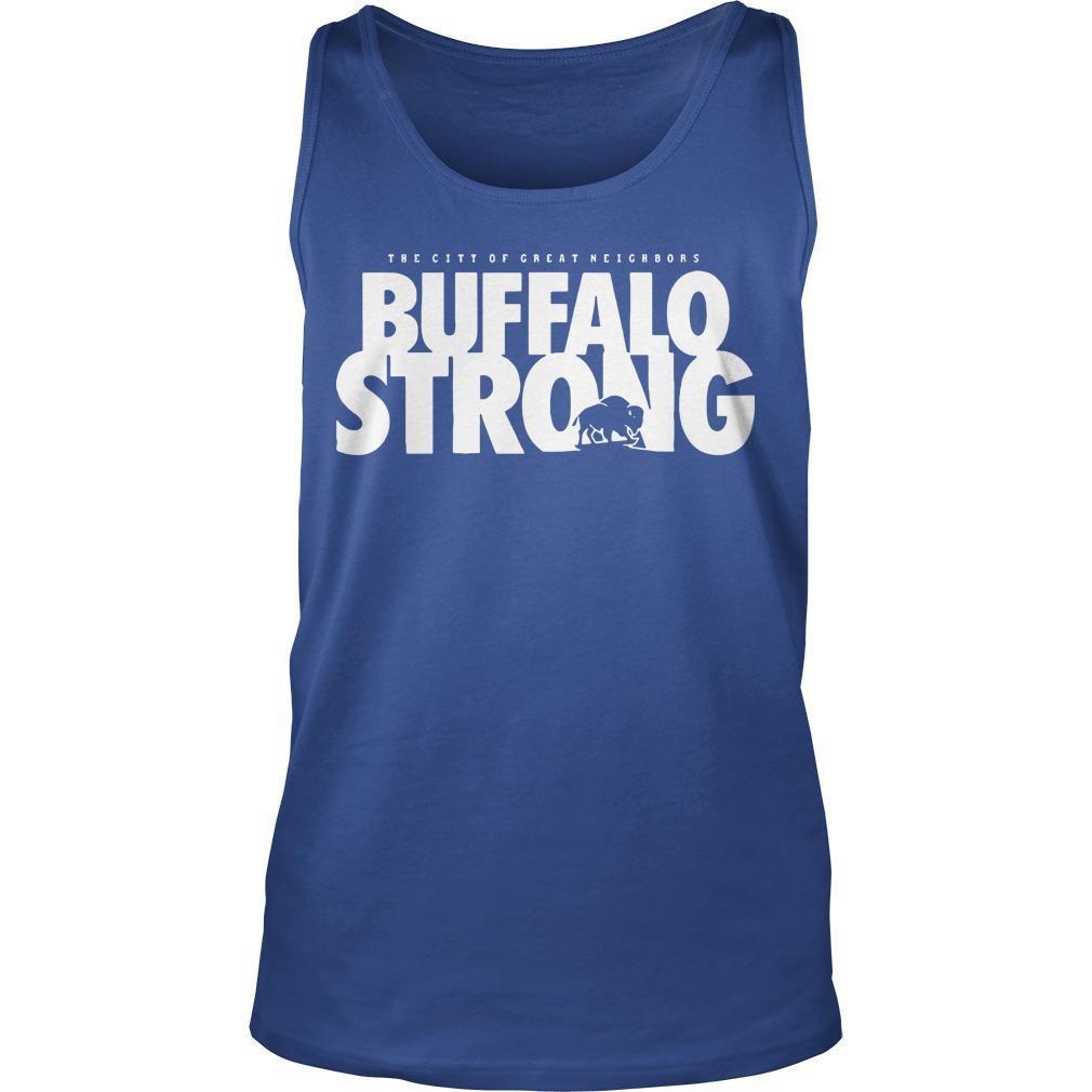 FeedMore WNY The City Of Great Neighbors Buffalo Strong Tank Top