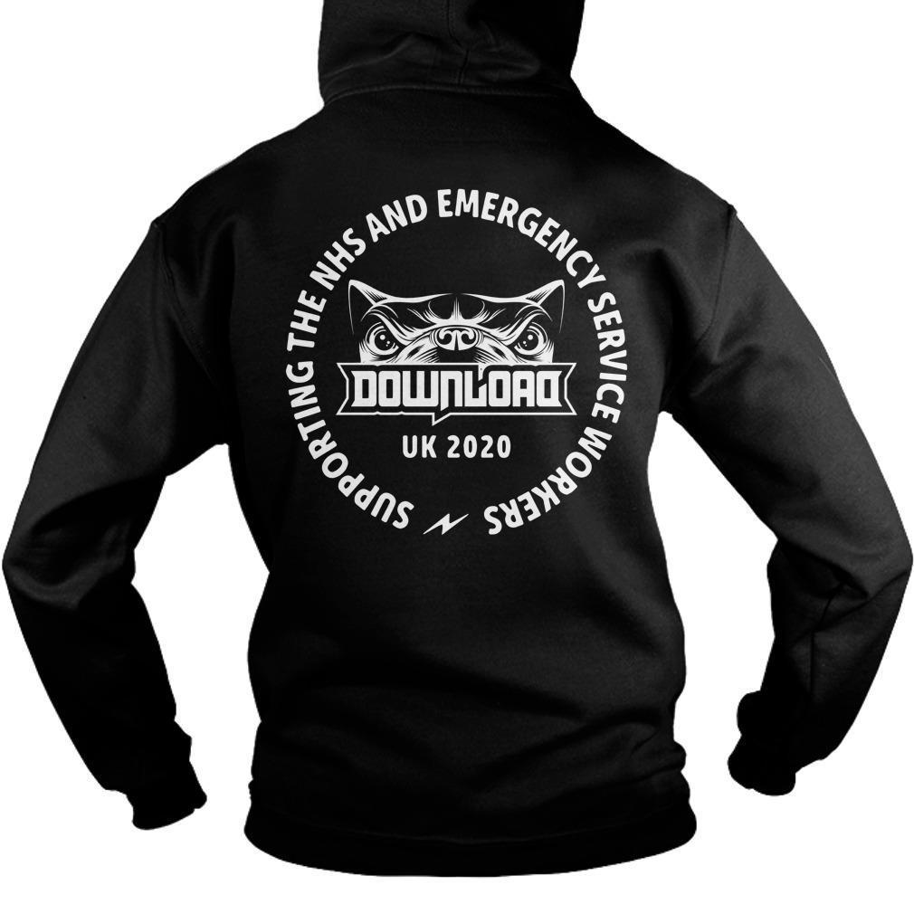 Festival Download Dog Says Charity Nhs T Hoodie