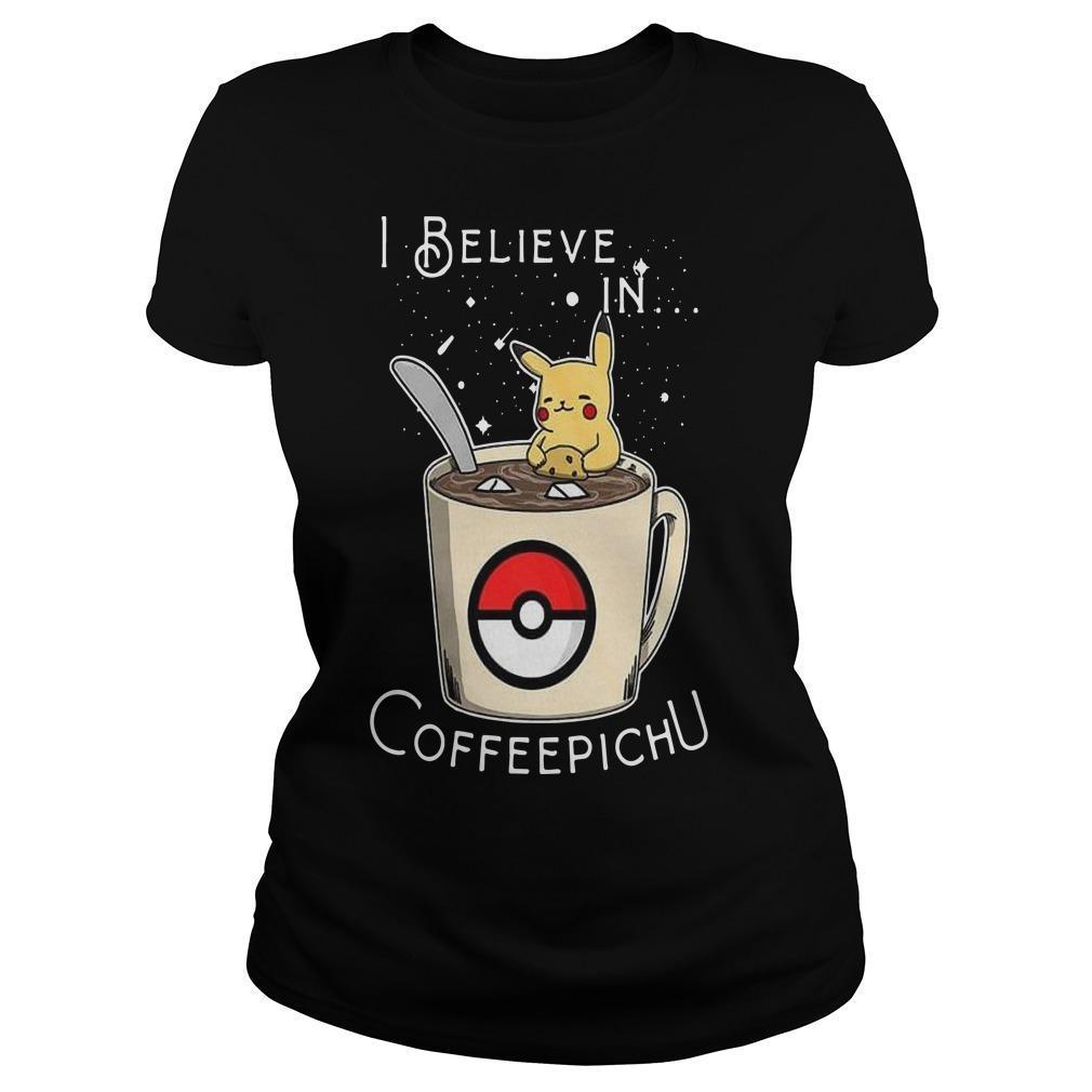 I Believe In Coffeepichu Longsleeve