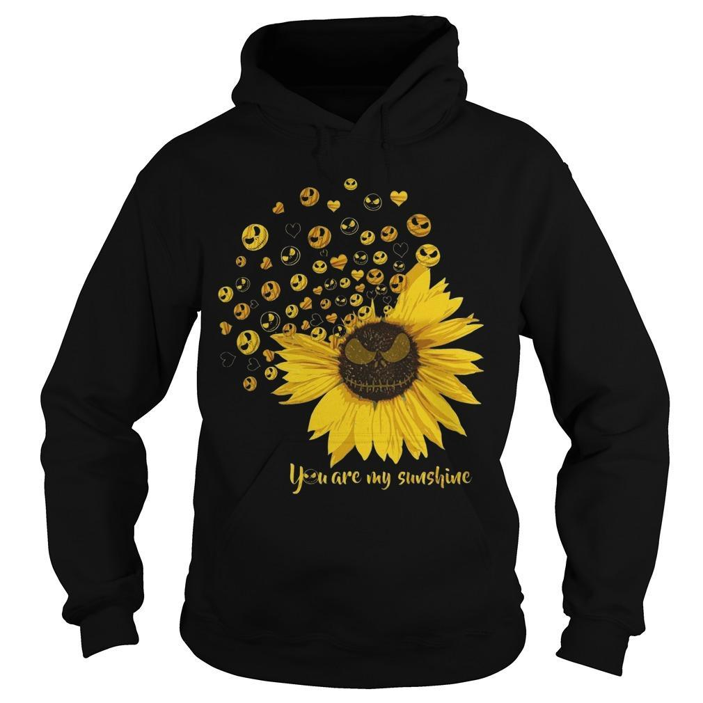 Jack Skellington Sunflower You Are My Sunshine Hoodie