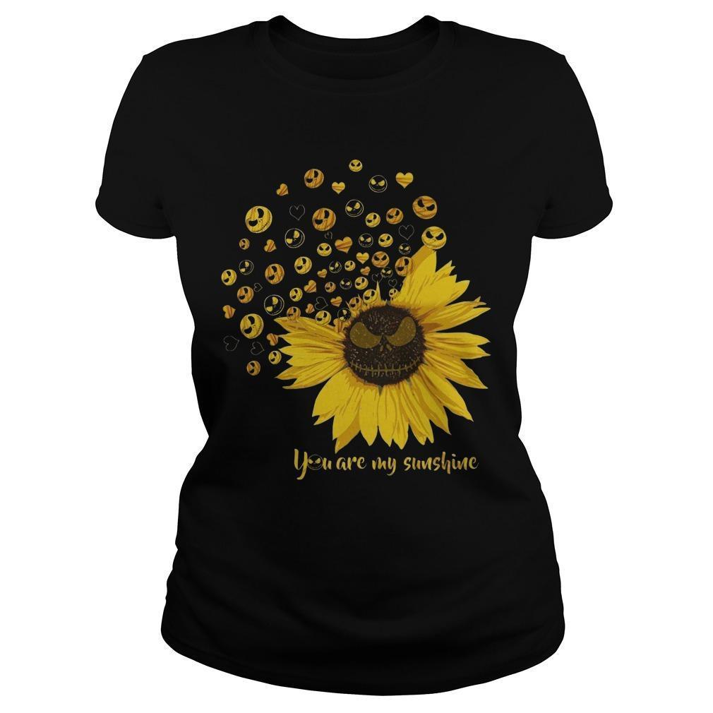 Jack Skellington Sunflower You Are My Sunshine Longsleeve