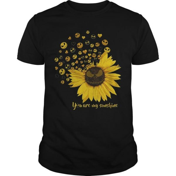 Jack Skellington Sunflower You Are My Sunshine Shirt