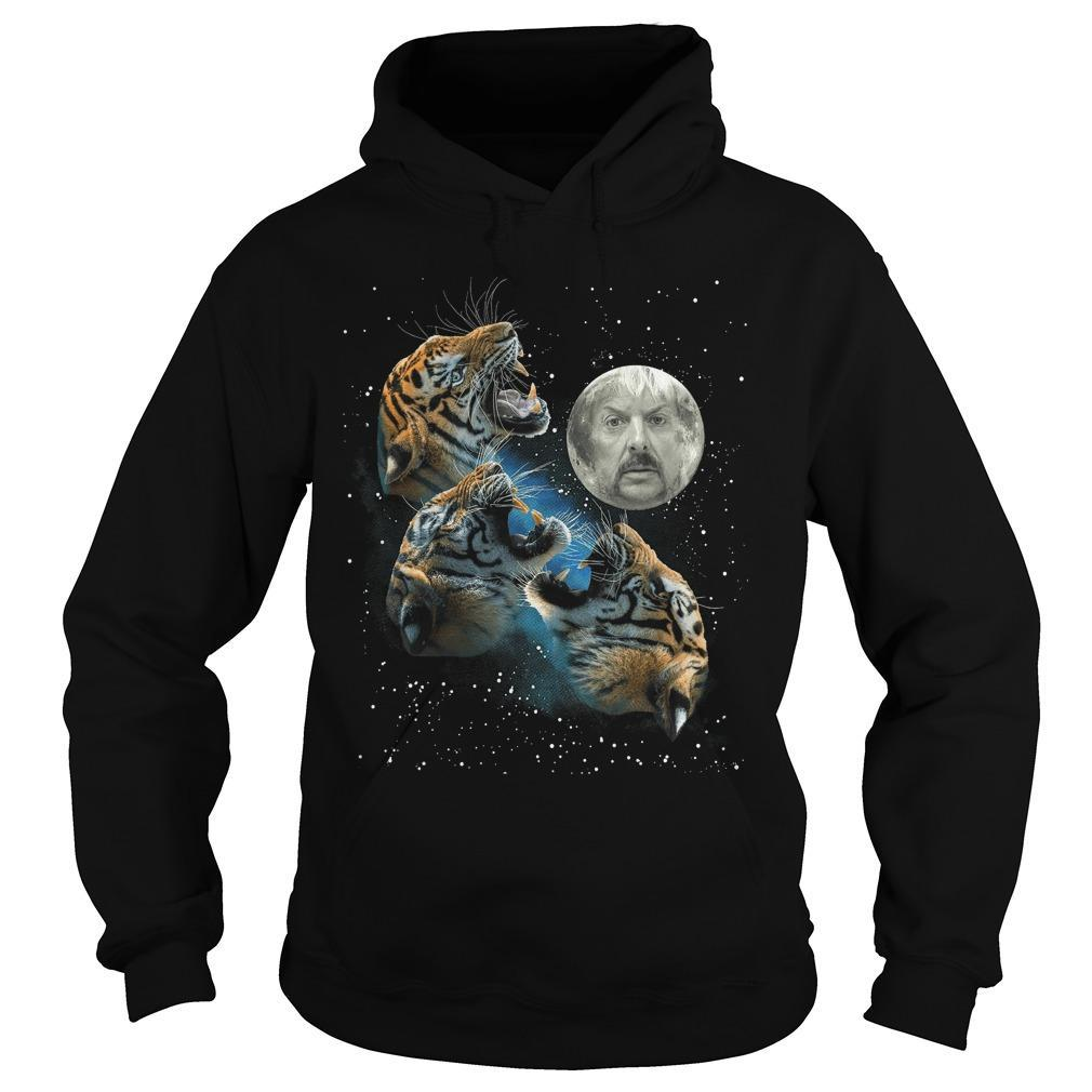 Joe Exotic Three Tiger Moon Hoodie