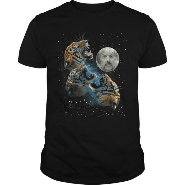 Joe Exotic Three Tiger Moon Shirt
