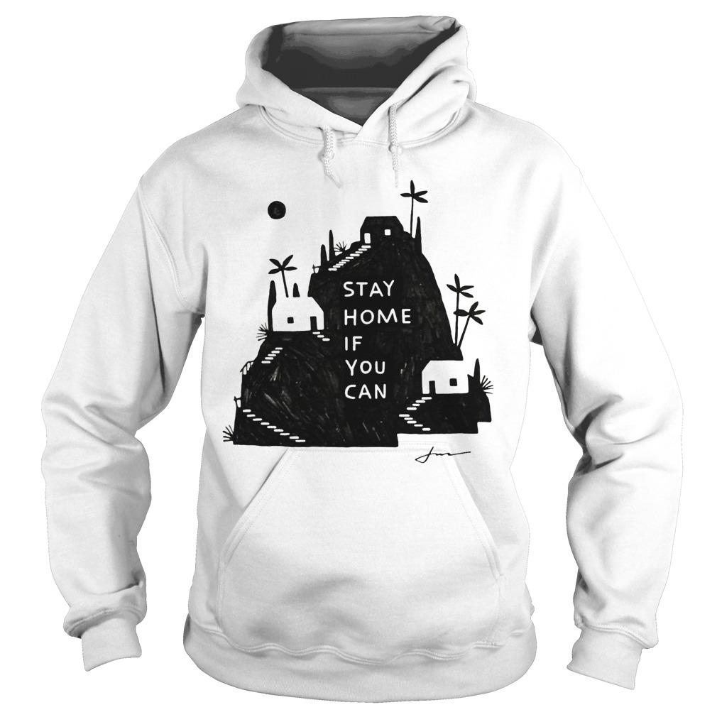Jon Klassen Stay Home If You Can Hoodie