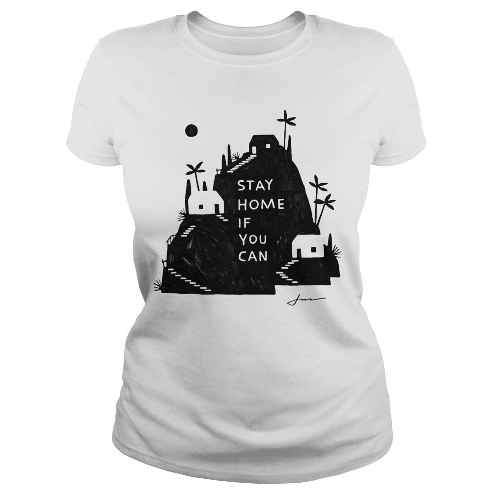 Jon Klassen Stay Home If You Can Longsleeve