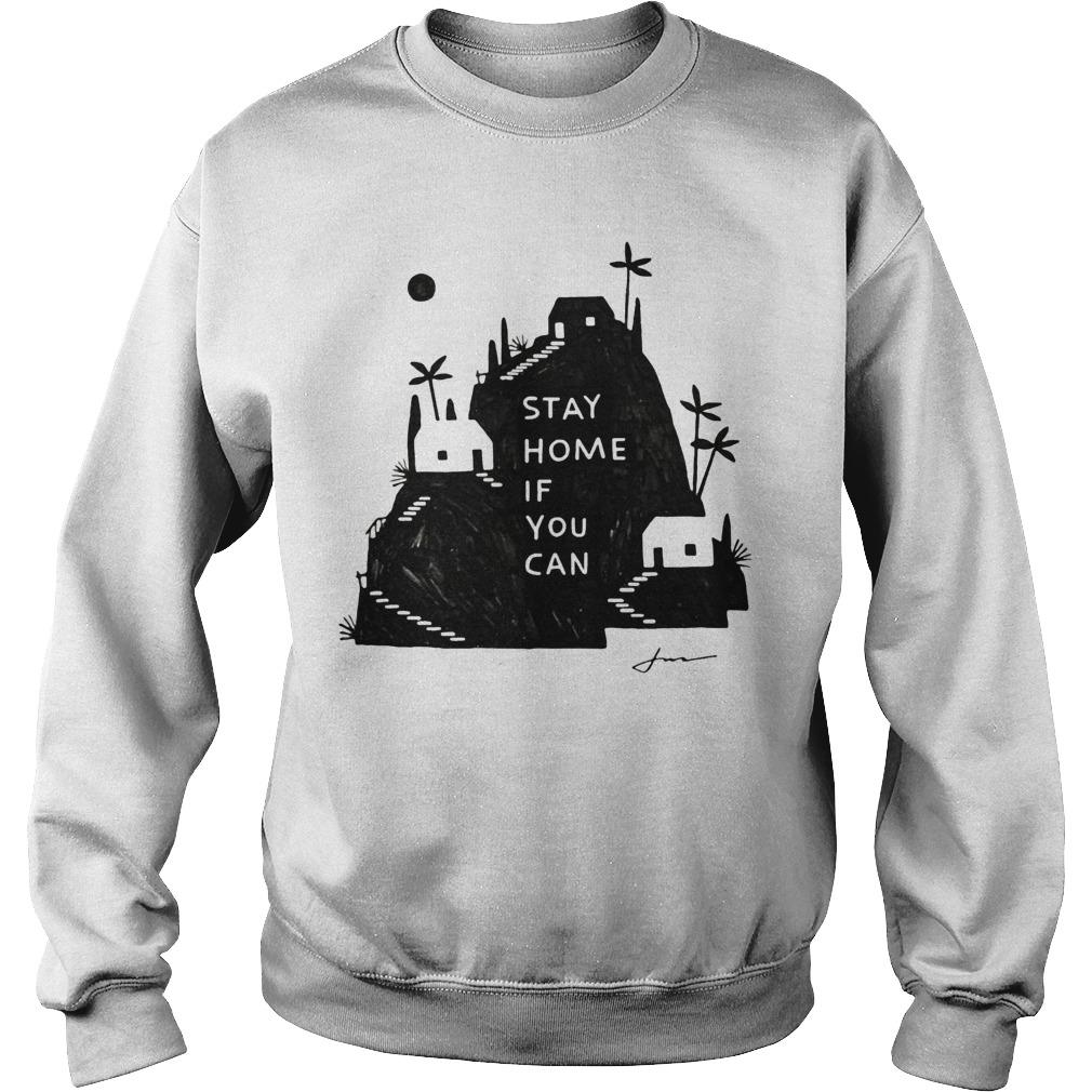 Jon Klassen Stay Home If You Can Sweater