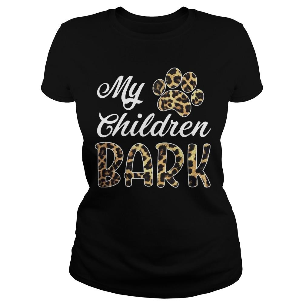 Leopard My Children Bark Longsleeve