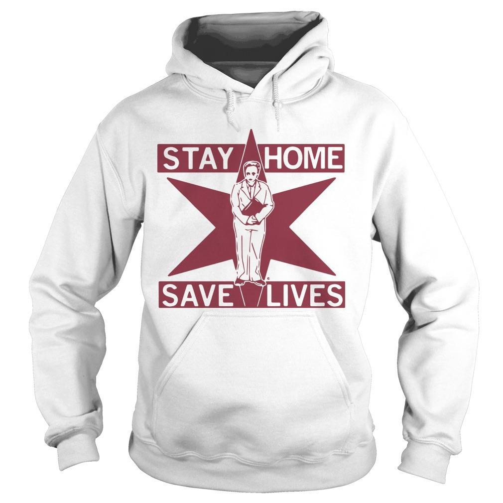 Lori Lightfoot Stay Home Save Lives Hoodie