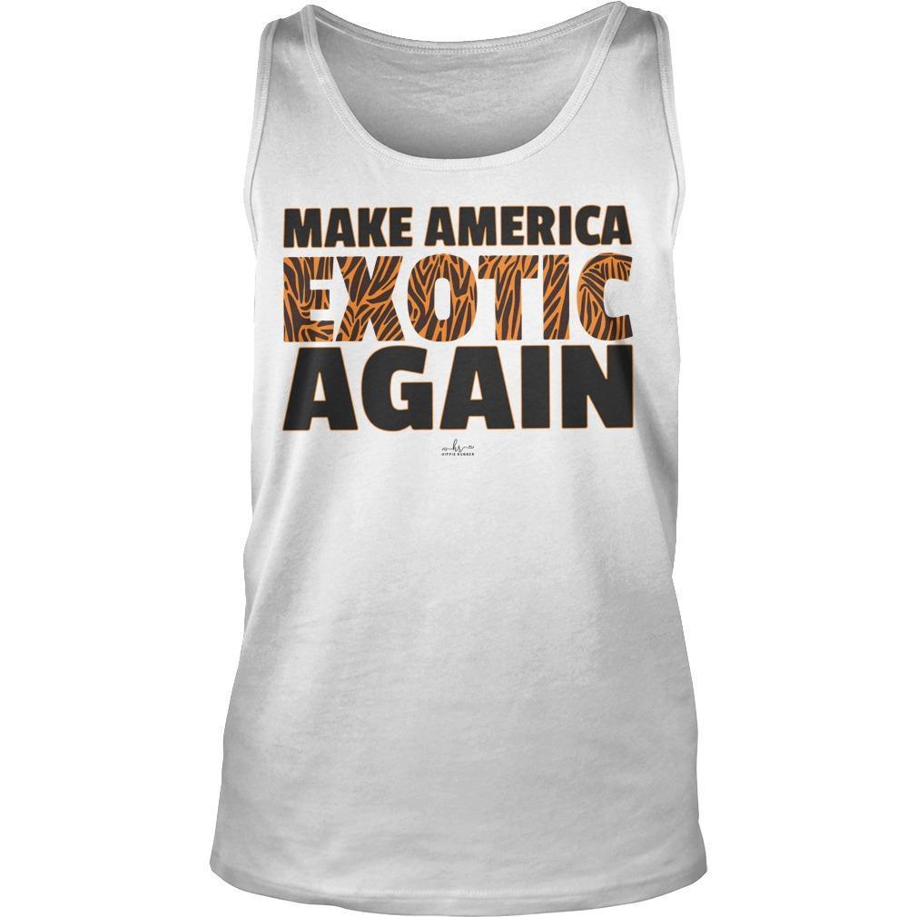 Make America Exotic Again Tank Top