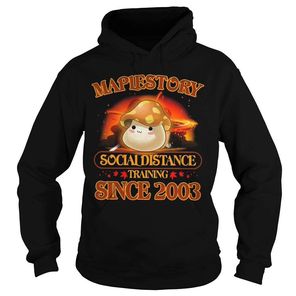 Maplestory Social Distance Training Since 2003 Hoodie